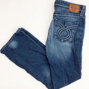 Big Star Liv Bootcut Omega Jeans Blue Size 31R
